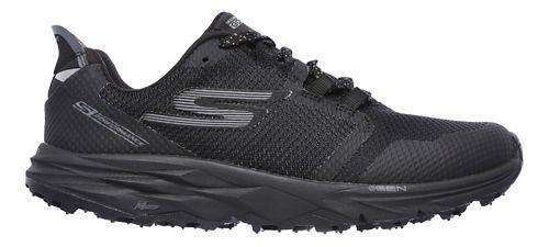 Womens Skechers GO Trail 2 Trail Running Shoe - Black 10