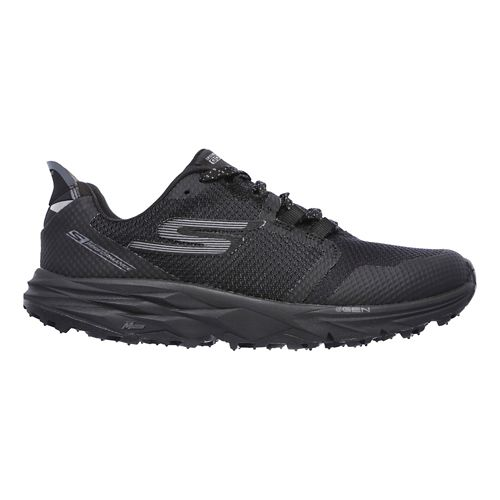 Womens Skechers GO Trail 2 Trail Running Shoe - Black 7.5