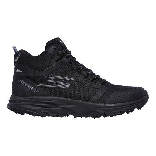 Womens Skechers GO Trail 2 - Grip Trail Running Shoe - Black 7.5