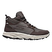 Womens Skechers GO Trail 2 - Grip Trail Running Shoe - Chocolate 8.5