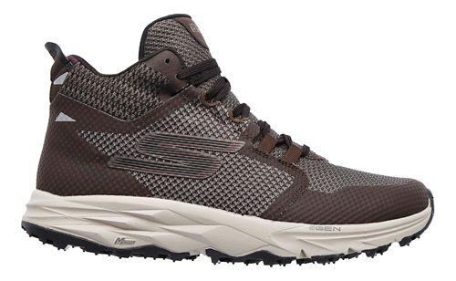 Womens Skechers GO Trail 2 - Grip Trail Running Shoe - Chocolate 10