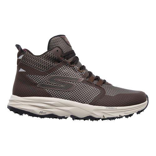 Womens Skechers GO Trail 2 - Grip Trail Running Shoe - Chocolate 11