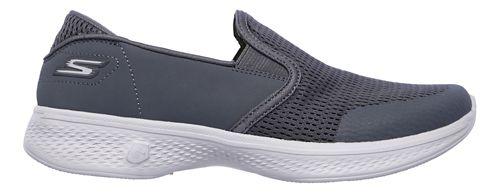 Womens Skechers GO Walk 4 - Attuned Walking Shoe - Charcoal 6.5