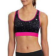 Womens Champion Absolute Workout -Print Sports Bras - Pop Art Pink/Lilac S