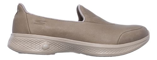 Womens Skechers GO Walk 4 - Desired Walking Shoe - Taupe 9