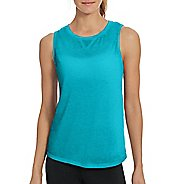 Womens Champion Authentic Wash Muscle Sleeveless & Tank Technical Tops