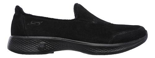 Womens Skechers GO Walk 4 - Interact Walking Shoe - Black 7.5