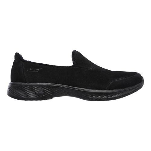 Womens Skechers GO Walk 4 - Interact Walking Shoe - Black 9.5