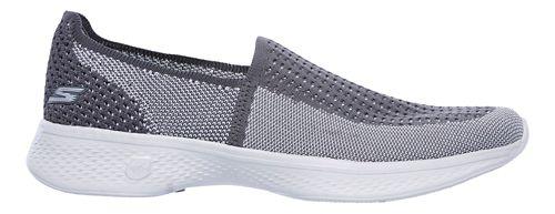 Womens Skechers GO Walk 4 - Ravish Walking Shoe - Black/White 5.5
