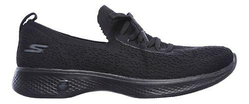 Womens Skechers GO Walk 4 - Reward Walking Shoe - Black 9