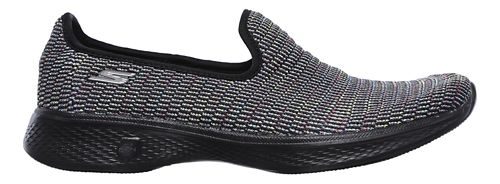 Womens Skechers GO Walk 4 - Select Walking Shoe - Navy/Multi 8