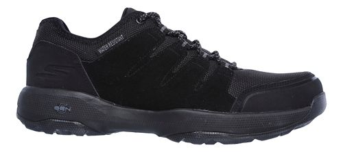 Womens Skechers GO Walk Outdoors 2 - Pathway Trail Running Shoe - Black 9