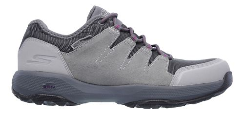 Womens Skechers GO Walk Outdoors 2 - Pathway Trail Running Shoe - Charcoal 10