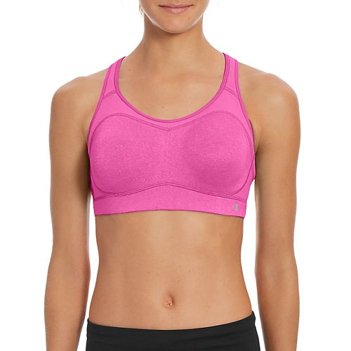 Womens Champion Distance Underwire 2.0 Sports Bras - Charity Pink Heather 34C/D