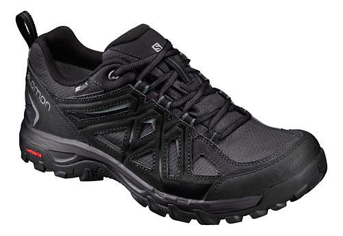 Mens Salomon Evasion 2 CS WP Hiking Shoe - Magnet/Black 9.5