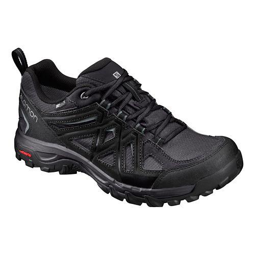 Mens Salomon Evasion 2 CS WP Hiking Shoe - Magnet/Black 11.5