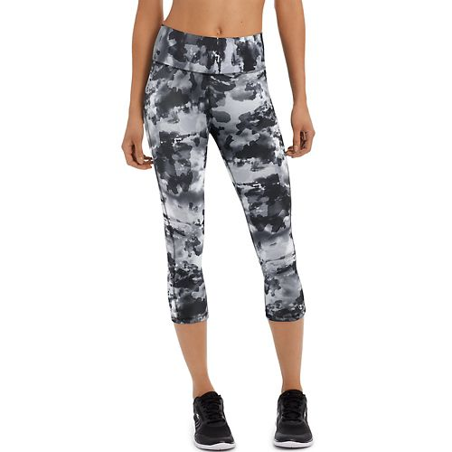 Womens Champion Absolute -Print Capris Pants - Sky Camo Neutral L