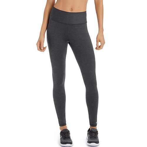Womens Champion Absolute Tights & Leggings Pants - Granite Heather XL
