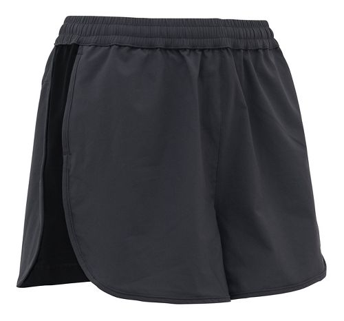 Womens CW-X Endurance Run Unlined Shorts - Charcoal Grey L