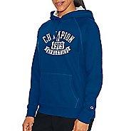 Womens Champion Heritage Fleece Pullover Hood Half-Zips & Hoodies Technical Tops