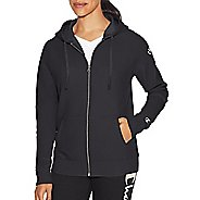 Womens Champion Heritage Fleece Zip Hood Half-Zips & Hoodies Technical Tops