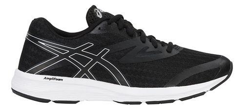 Womens ASICS Amplica Running Shoe - Black/White 8