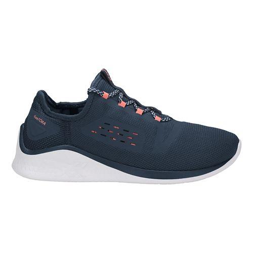 Womens ASICS Fuzetora Casual Shoe - Dark Blue/Pink 8