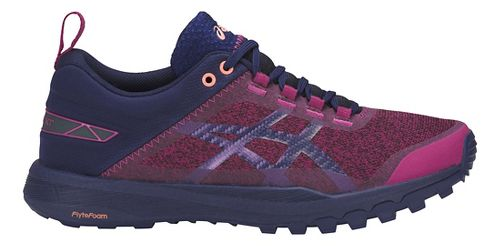 Womens ASICS Gecko XT Trail Running Shoe - Baton Rouge/Blue/Pink 11