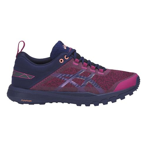 Womens ASICS Gecko XT Trail Running Shoe - Baton Rouge/Blue/Pink 10
