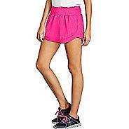Womens Champion Sport 6 Lined Shorts - Pop Art Pink XS