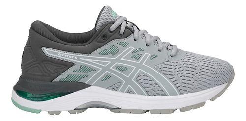 Womens ASICS GEL-Flux 5 Running Shoe - Grey/White/Green 7