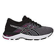 Womens ASICS GEL-Flux 5 Running Shoe - Grey/White/Green 6.5