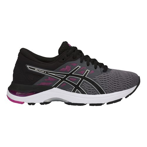Womens ASICS GEL-Flux 5 Running Shoe - Blue/Cantaloupe 12