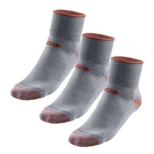 R-Gear Drymax Medium Cushion Trail Quarter 3 pack Socks - Orange/Grey S