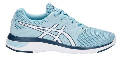 Womens ASICS GEL-Moya Running Shoe - Blue/White 11.5