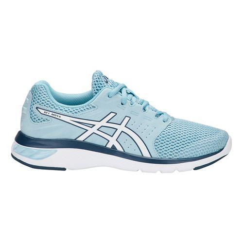 Womens ASICS GEL-Moya Running Shoe - Blue/White 11