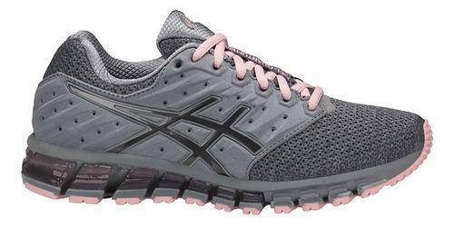 Womens ASICS GEL-Quantum 180 2 MX Running Shoe - Phantom/Black/White 10