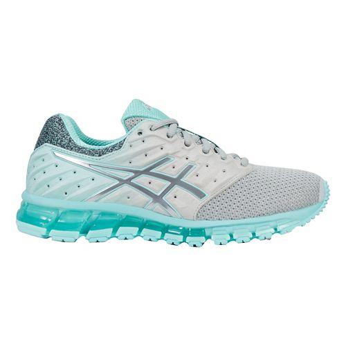 Womens ASICS GEL-Quantum 180 2 MX Running Shoe - Grey/Blue 7