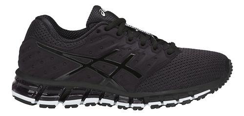Womens ASICS GEL-Quantum 180 2 MX Running Shoe - Phantom/Black/White 8.5