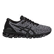 Womens ASICS GEL-Quantum 360 Knit Running Shoe - Black/White 12