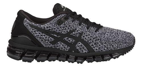 Womens ASICS GEL-Quantum 360 Knit Running Shoe - Black/White 5