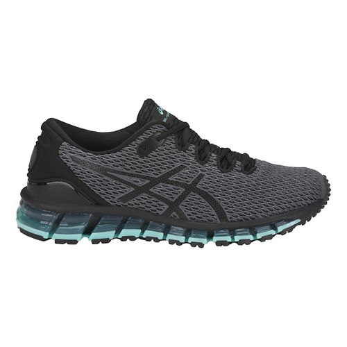 Womens ASICS GEL-Quantum 360 Shift MX Running Shoe - Carbon/Black/Blue 9.5