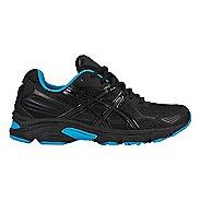 Womens ASICS GEL-Vanisher Running Shoe - Black/Phantom/Blue 6.5