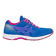 Womens ASICS LyteRacer TS 7 Running Shoe - Blue/White/Pink 10.5