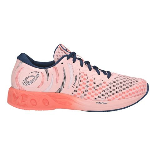 Womens ASICS Noosa FF 2 Running Shoe - Pink/Blue 12