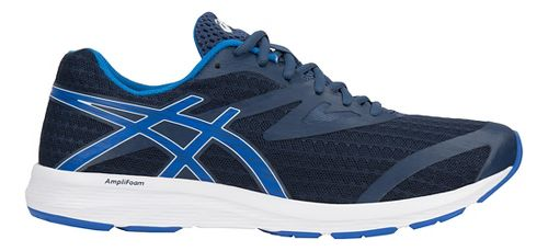 Mens ASICS Amplica Running Shoe - Blue/White 9