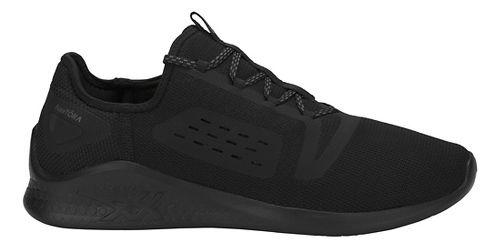 Mens ASICS Fuzetora Casual Shoe - Black/Carbon 11.5