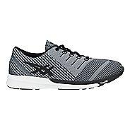 Mens ASICS fuzeX Knit Running Shoe - Carbon/Black/White 8.5