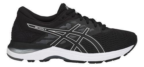Mens ASICS GEL-Flux 5 Running Shoe - Black/Silver/Carbon 12.5
