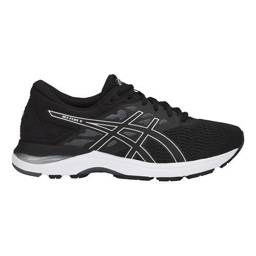 Mens ASICS GEL-Flux 5 Running Shoe - Black/Silver/Carbon 7.5